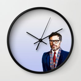 Jemaine Clement 9 Wall Clock