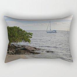 Never Too Late Rectangular Pillow