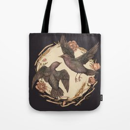 Starlings Tote Bag