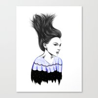 WIND TUNNEL Canvas Print