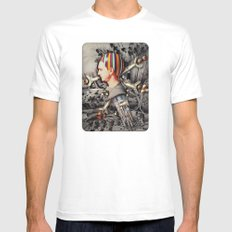 My Precious | Collage White MEDIUM Mens Fitted Tee