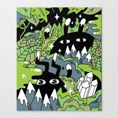Little Lurkers Canvas Print