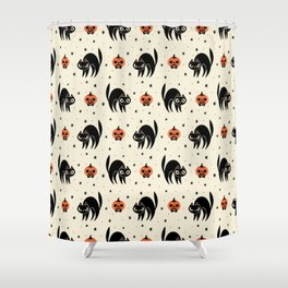 Scaredy Cat Shower Curtain