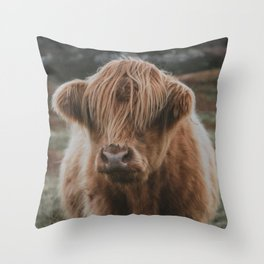 Highland explorer Throw Pillow