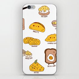 Get eggy with it iPhone Skin