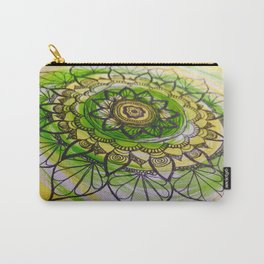Mandala flower Carry-All Pouch