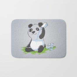 Panda in my FILLings Bath Mat