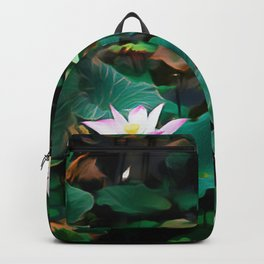 Lotus - A Pattern Backpack