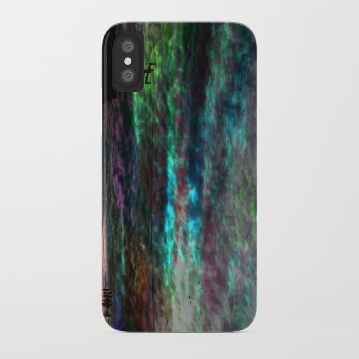 WaterColor SunSet iPhone Case