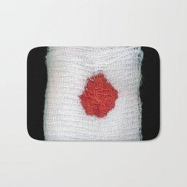 Bloodstained Gauze Bath Mat