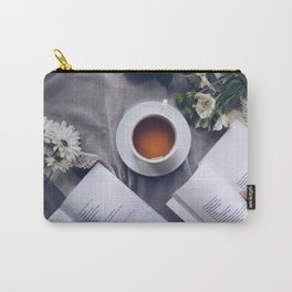 Coffee, Flowers & Poetry For Me, Please Carry-All Pouch