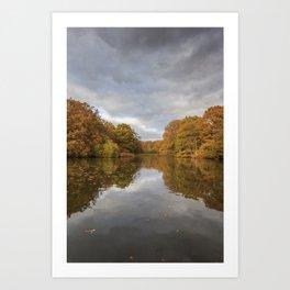 Autumn Ponds - 3 Art Print