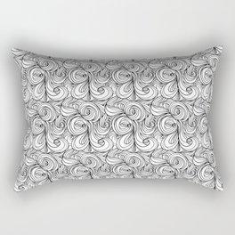 Flowing Lines Rectangular Pillow