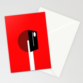TELEV  IS  ON Stationery Cards