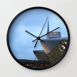 Zaha H A D I D | architect | Guangzhou Opera House Wall Clock