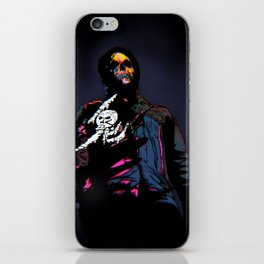 VHS ghost iPhone Skin