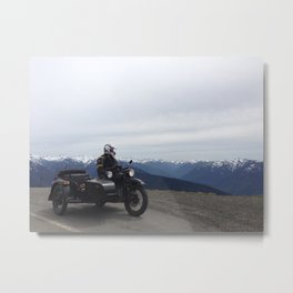 Hurricane Ridge Metal Print