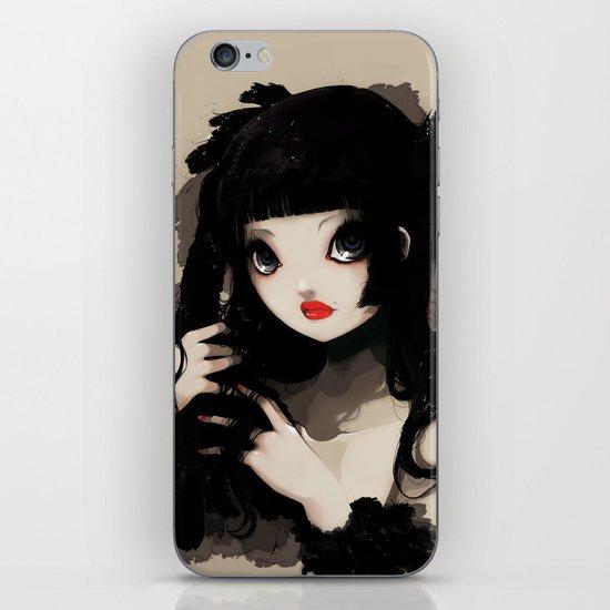 L'Oiseau silence iPhone & iPod Skin
