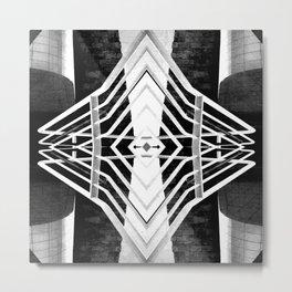 Geometric Construction Metal Print