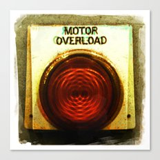 motor overload 2 Canvas Print