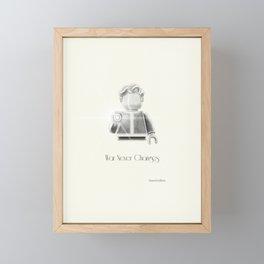The Vault Boy Framed Mini Art Print
