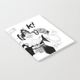 Maori kiss Notebook