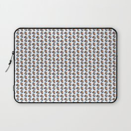 Seashell pattern in white Laptop Sleeve