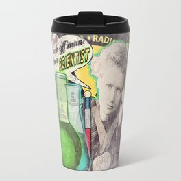 "Marie Curie- ""Back Off Man...I'm a SCIENTIST!"" Travel Mug"