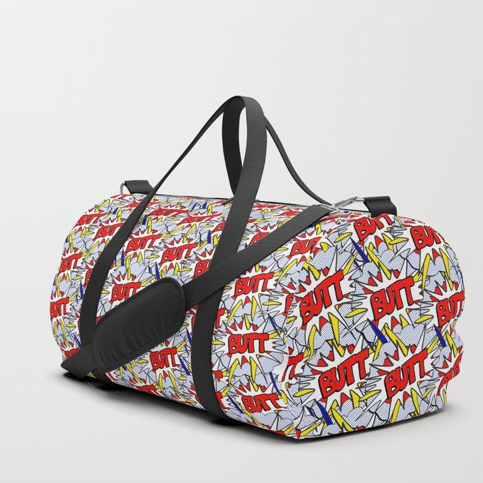 BUTT - Pop Art Style Duffle Bag