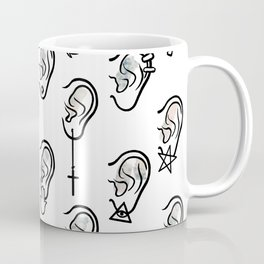 Ears and earrings Coffee Mug