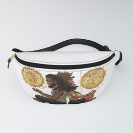Meditate & Chill Fanny Pack