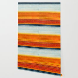 Yellowstone Orange Wallpaper