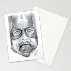 Zombie Avenger Stationery Cards