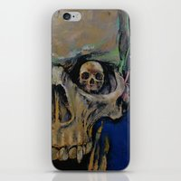 the vampire diaries iPhone & iPod Skins featuring Vampire by Michael Creese