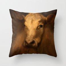 Cow 25 Throw Pillow