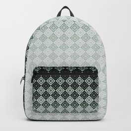 Gray-blue pattern 2 Backpack
