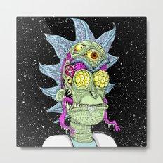 Monster Rick Metal Print