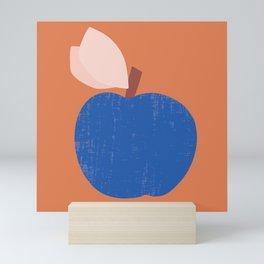 Blue Apple Mini Art Print