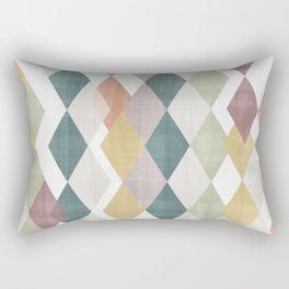 Rhombuses 2 Rectangular Pillow