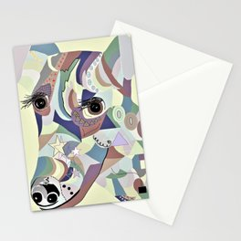 Smooth Fox Terrier Denim Colors Stationery Cards