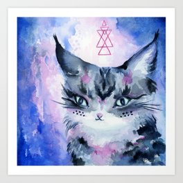 Lynx Cat : Magic Maker Art Print
