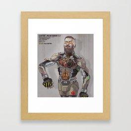 Conor Bot Framed Art Print