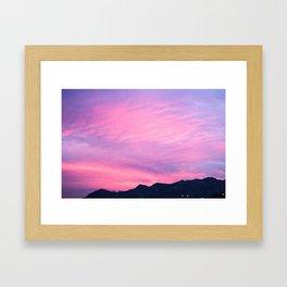 Pink Hues Framed Art Print