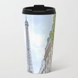 Eiffel Tower Peek a  Boo Travel Mug