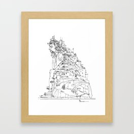 Trasposizione Framed Art Print