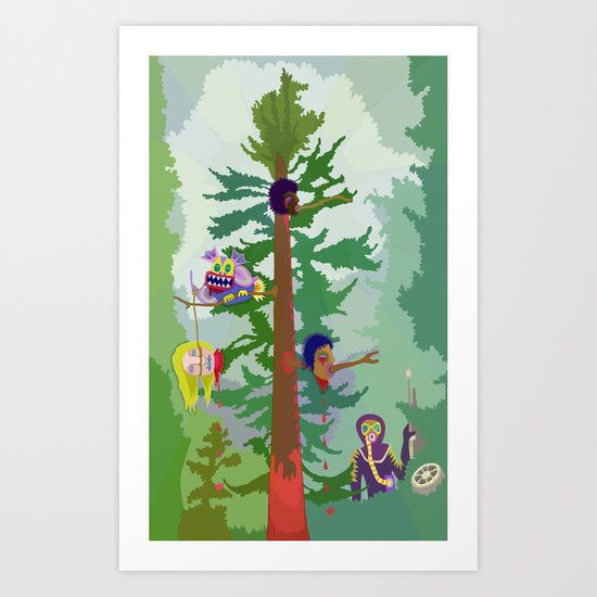 Nestor Tidcu Art Print