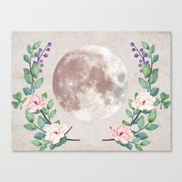 Vanilla Floral D. Canvas Print