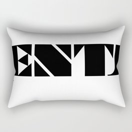 Type Type for ENTJ Rectangular Pillow