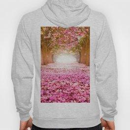 Romantic Flower Tunnel Hoody