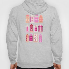 Moroccan Doors – Pink Palette Hoody